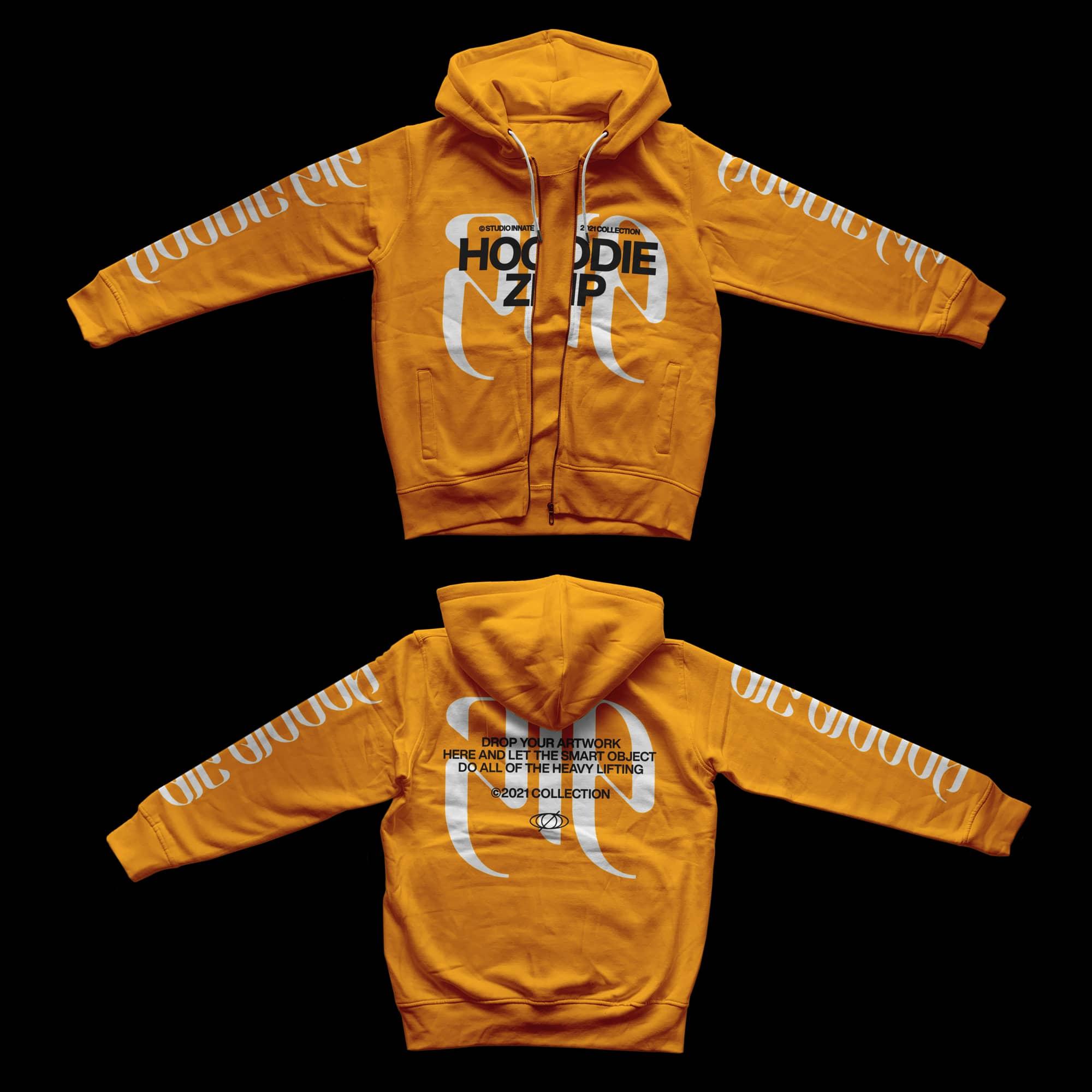 Zip-Front-Hoodie